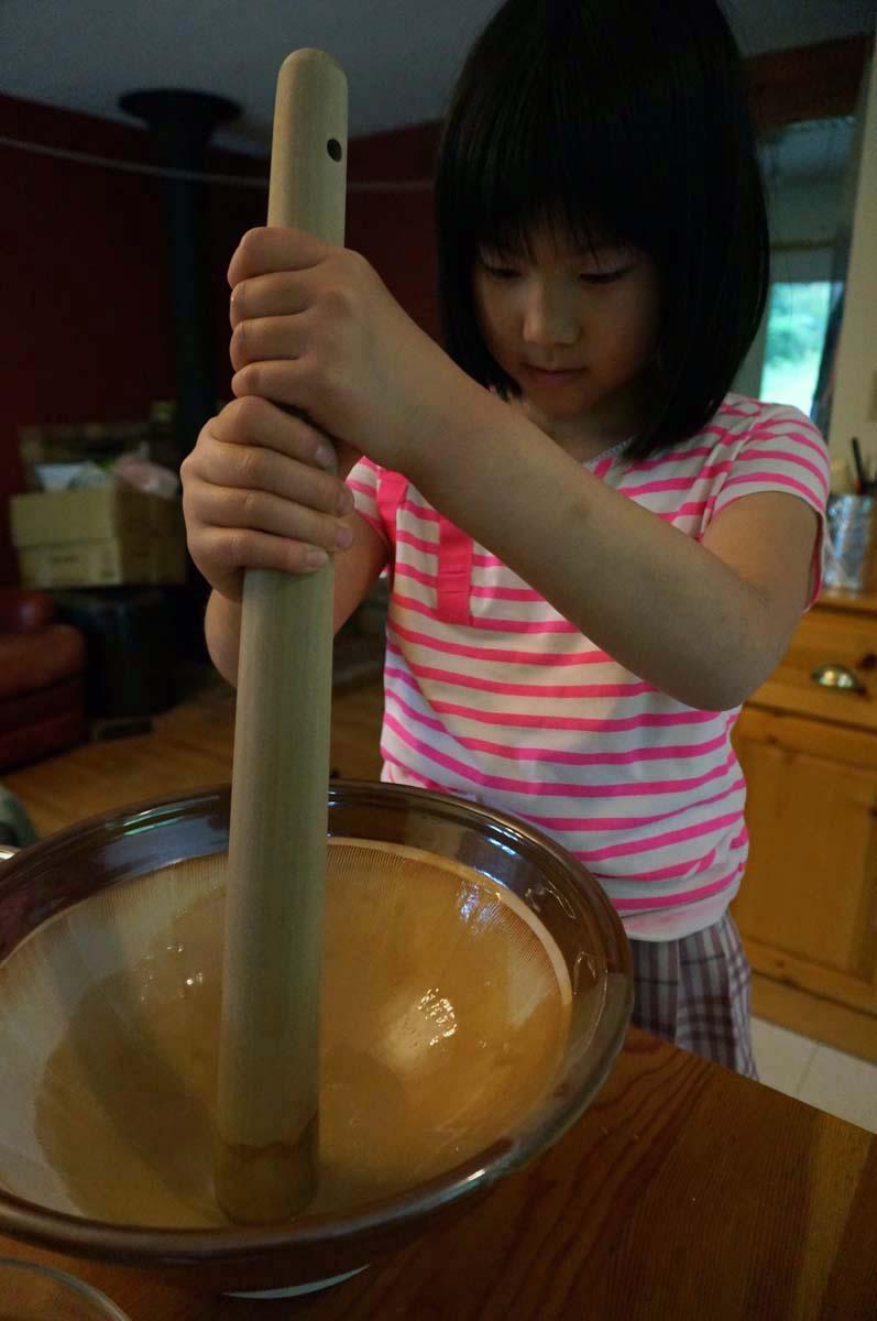 making glue