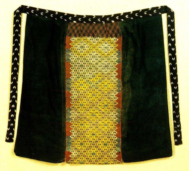 Lozenge-patterned maedare 2